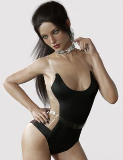 X-Fashion Andromeda Bodysuit for Genesis 8 Female(s)