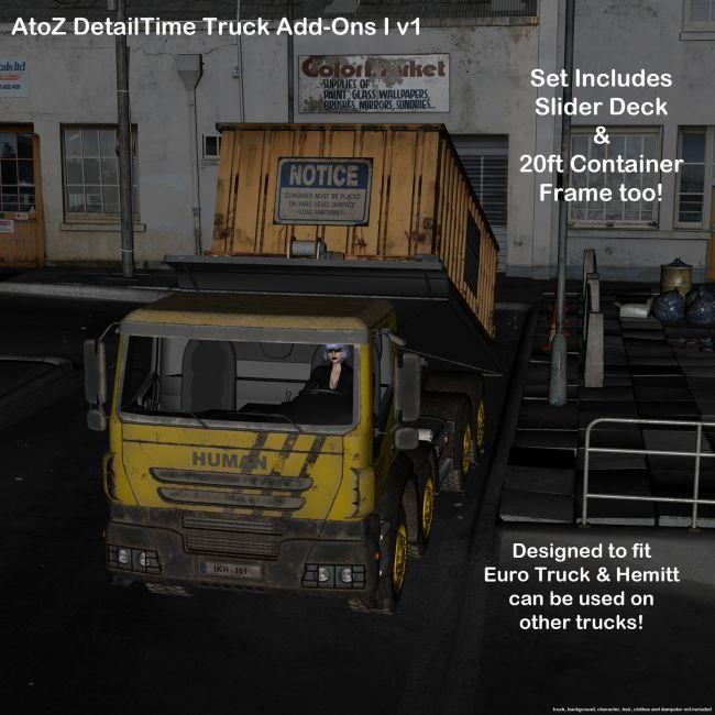 AtoZ DetailTime Truck Add Ons I v1