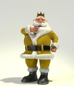 King of the North Pole Santa for Poser