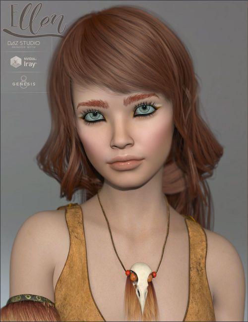 TDT-Ellen for Genesis 8 Female