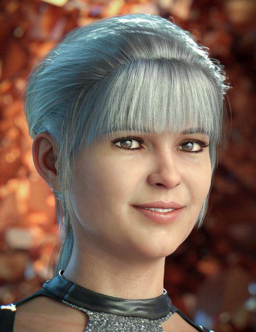 YouMei Hair for Genesis 8 Female(s)