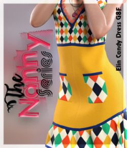 The Nanny Series: Elin Candy Dress G8F
