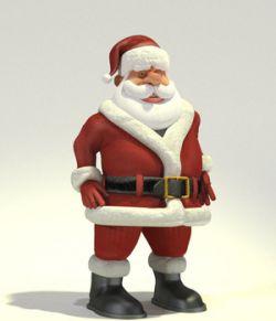 Toon Santa for Poser