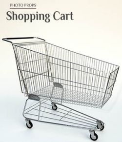 Photo Props: Shopping Cart