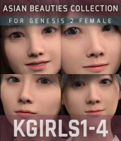 KGirls 1-4 for Genesis 2 Female