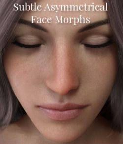 Subtle Asymmetrical Face Morphs for Genesis 8 Female