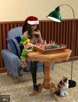 Santa's Chess Set