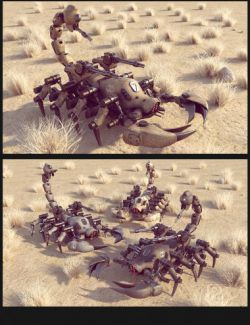 Sci-Fi Scorpion Mecha