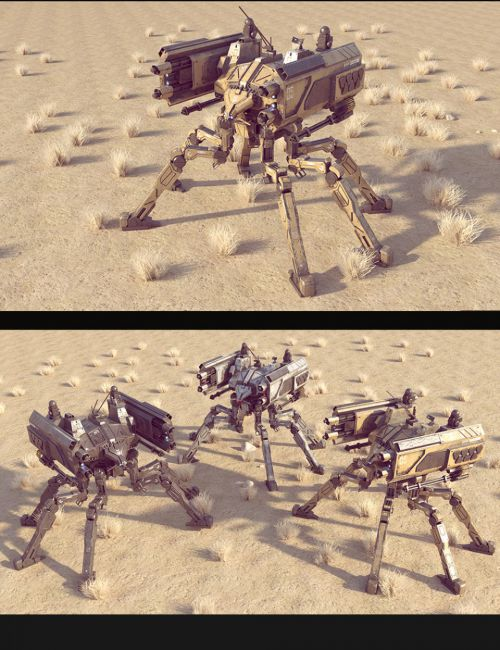 Sci-Fi SS Spider Mecha