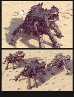 Sci-Fi LS Spider Mecha
