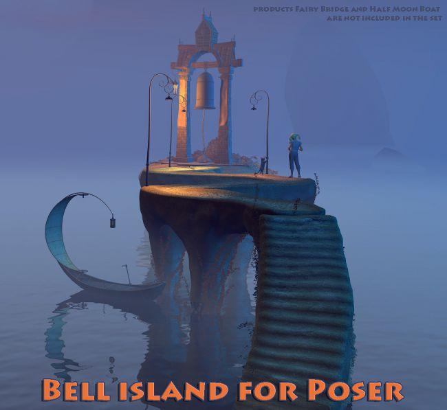 Bell island for Poser