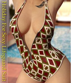 Holiday for Sexy Lifeguard Suit