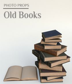 Photo Props: Old Books