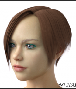 NJ Hair for Genesis 8 Female