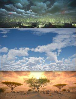 Cloudscape Creator - Sky Cover for Iray