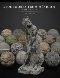 Stoneworks From Mexico 01: Iray Shaders and Merchant Resource