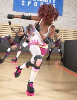 Skate Queen for Genesis 8 Female(s)