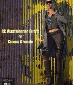SC Wastelander Outfit for Genesis 8 Female