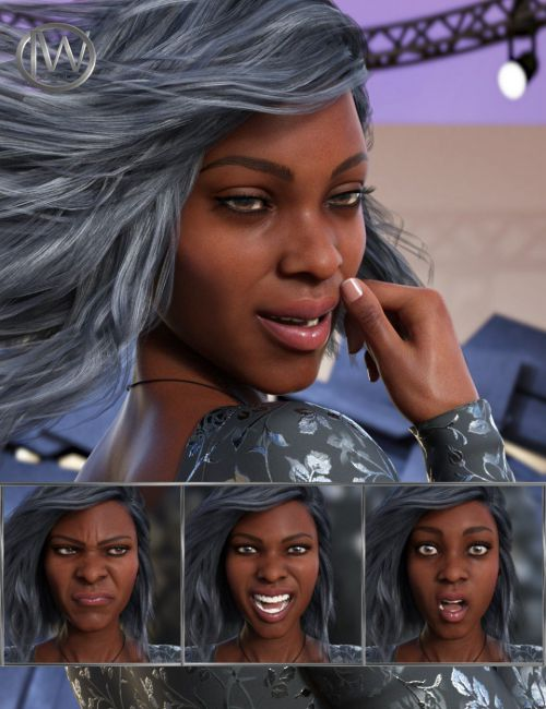 Feel - Expressions for Genesis 8 Female and Darcy 8