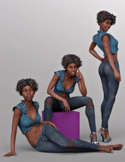 CDI Poses for Darcy 8 and Genesis 8 Female