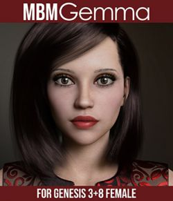 MbM Gemma for Genesis 3 and 8 Female
