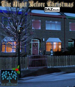 Night Before Christmas for DAZ|Studio