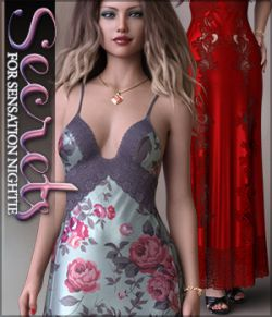 Secrets for dForce Sensation Nightie G8F