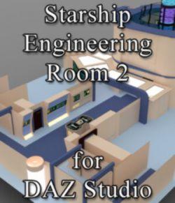 Starship Engineering Room 2 for DAZ Studio