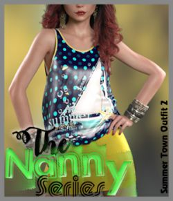 The Nanny Series: Summer Town Outfit 2 G8F