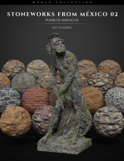 Stoneworks From Mexico 02: Iray Shaders and Merchant Resource