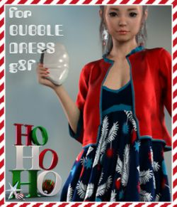 HoHoHo Bubble Dress G8F