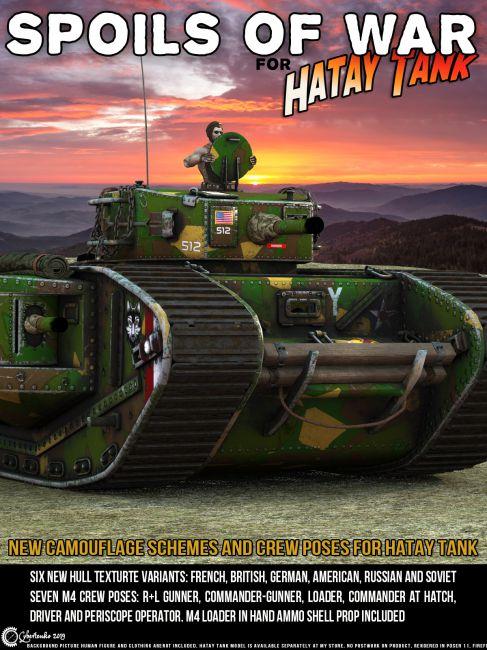 Spoils of War for Hatay Tank