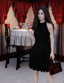 Night Out Purse and Accessories for Genesis 8 Female