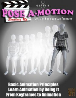 Pose a-Motion Standing Up