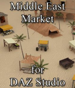Middle East Market for DAZ Studio