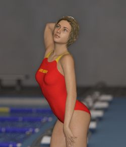 80's Sports Swmsuit 01 for Genesis 8 Females