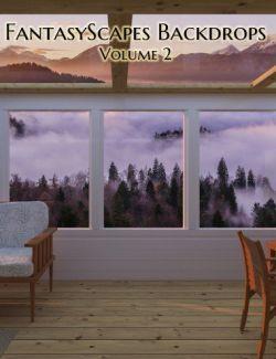 FantasyScapes Backdrops Volume 2