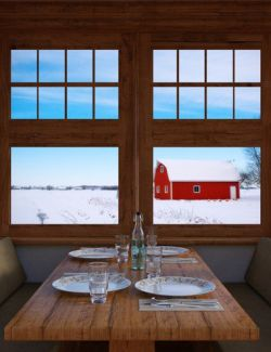 WinterScapes Backdrops Volume 1