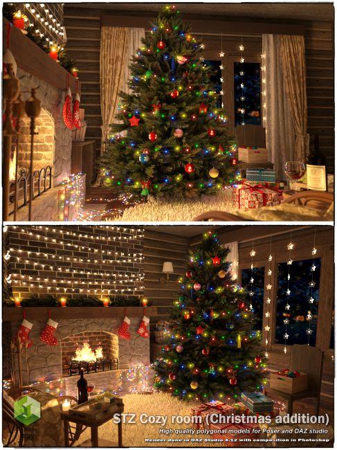 STZ Cozy room (Christmas_addition)