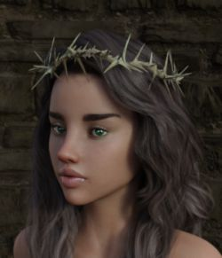 Crown of Thorns for Genesis 3 and 8 Female