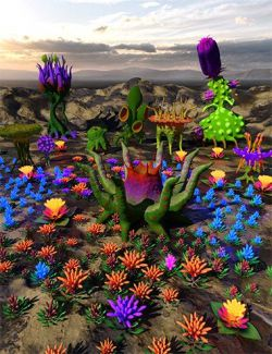 My Aliens Plants for Iray