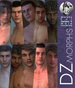 DZ G8M Men Of DZheng Head Morphs