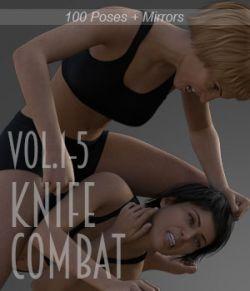 Knife Combat vol.1-5 MEGAPACK for Genesis 8 Female