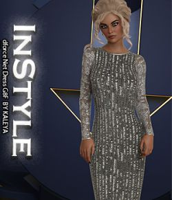 InStyle- dforce Net Dress G8F