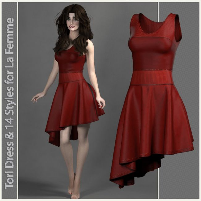 Tori Dress for La Femme