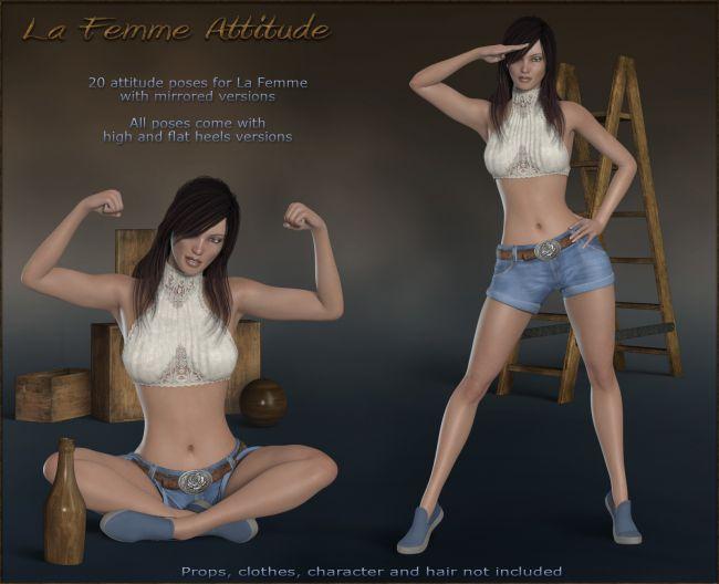 La Femme Attitude