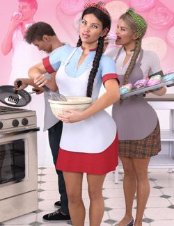 Z Household Chores Cooking for Genesis 8