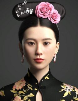 Cecilia Lau Character and Hair For Genesis 8 Female(s)