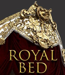 Royal Bed for DS Iray