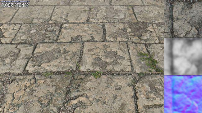 Panoramic Texture Resource: Floor Stones